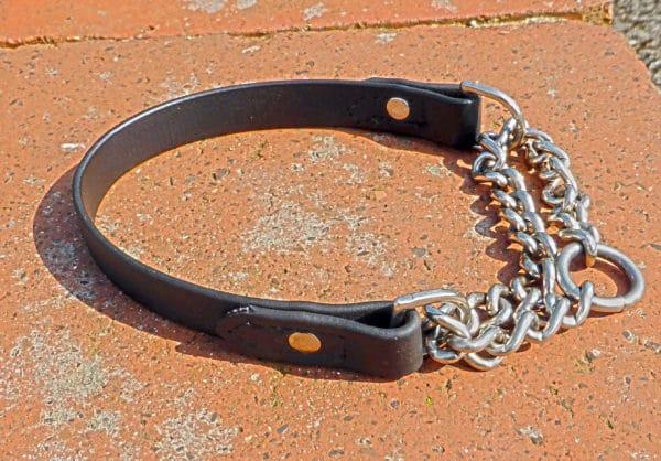 Half Check Collar-1082