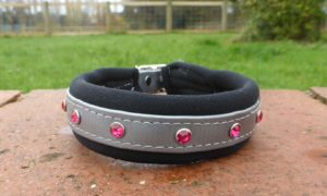 Padded Bling Dog Collar-0